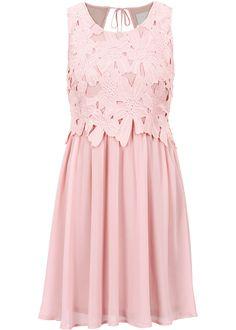 Kleid rosa - BODYFLIRT boutique jetzt im Online Shop von bonprix.de ab ? 38,99 bestellen. Überzeugend Feminin! Leichtes Sommerkleid mit floraler Spitze. Am ...