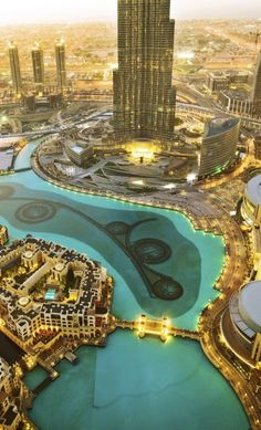 From Downtown Dubai - The Centre of Now The Address Downtown Dubai, nearly everything on this list is within a 20 minute walk, and much is under 15. From the Dubai Fountains  The Dubai Mall (where Burj Dubai front of it), the distance is a bit greater for Souk Al Bahar #dubai #uae
