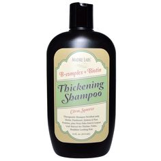 -- $5 discount code: HLD630 -- Madre Labs, Thickening B-Complex   Biotin Shampoo, Citrus. This #shampoo is fortified with vitamins B to help strengthen your locks and avoid breakage #haircare