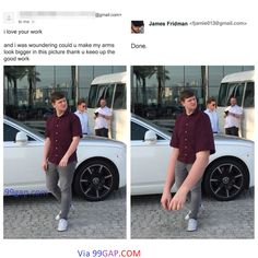 17 Hilarious Photo Edits From Photoshop Troll James Fridman - Stan Lee Quotes Funny Meme Pictures, Funny Images, Hilarious Photos, Funny Posts, Troll, James Fridman, Famous Inspirational Quotes, Funny Photoshop, Photoshop Pro