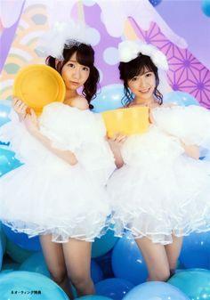 #Watanabe_Mayu and #Kashiwagi_Yuki