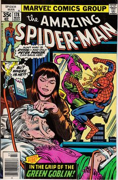 Amazing Spider-Man 168 1963 1st Series  May 1977 Marvel