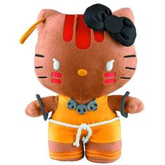 Hello Kitty X Street Fighter Series 3 Hello Kitty as Dhalsim 11 Plush *** For more information, visit image link.Note:It is affiliate link to Amazon.