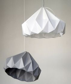 Paper Lampshades by Studio Snowpuppe