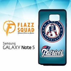 New England Patriots Logo E0788 Samsung Galaxy Note 5 Case