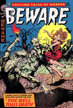 Sexy Golden Age Comic Cover | Gallery of 10 Spooky Halloween-Themed Golden Age Comic Book Covers
