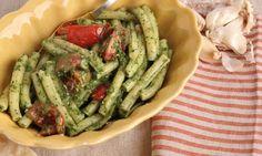Spinach Pesto Pasta Recipe  Laura in the Kitchen