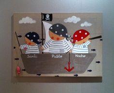 cuadro 3 niño piratas
