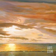 Quiet Horizon II Art Print by Dan Werner at Art.com