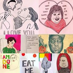 More illustrations from 2012✏️: unconventional Valentine's Day cards, illustrations of people in the street, Biggie and so on #artist#art#drawing#drawings#illustrator#illustration#illustrations#dodle#biggie#valentinesday#cards#people#funny#artdealex