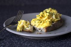 Scrambled Egg Toast