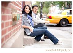 NYC Engagement Shoot - see how my pictures came out! NYU, fall/autumn, urban, photography