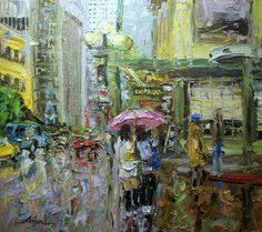 Seattle artist Arlon Rosenoff Fine Art - Sharing