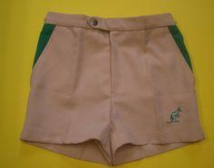 SHORT TENNIS VINTAGE in Abbigliamento e accessori, Vintage, Uomo: abbigliamento   eBay
