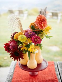 Turn a Butternut Squash Into a Fall Centerpiece