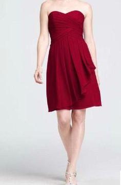 Wholesale Bridesmaid Dress Size Cha - Buy Short Crinkle Chiffon Bridesmaid Dress, $69.0   DHgate