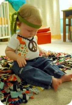 Baby Hippie Costume & 8 best Hippie Costumes images on Pinterest   Costume ideas Baby ...