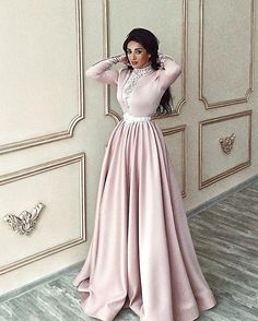 Prom Dresses Long Pink, Prom Dresses Long With Sleeves, Homecoming Dresses, Prom Gowns, Short Dresses, Formal Dresses, Muslim Prom Dress, Hijab Evening Dress, Lace Evening Dresses
