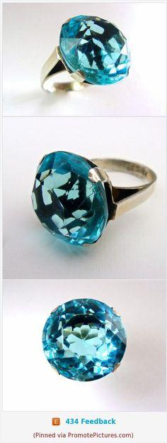 Blue Quartz REGINA Sterling Silver Ring, Round Cut, Vintage sz 6 #ring #sterlingsilver #bluequartz #gemstone #brilliantcut #Regina #roundcut #vintage #size6 https://www.etsy.com/RenaissanceFair/listing/503280902/blue-quartz-regina-sterling-silver-ring?ref=shop_home_active_1  (Pinned using https://PromotePictures.com)