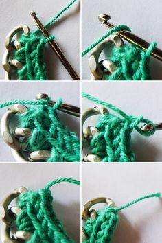 Thanks, I Made It : DIY Crochet Necklace, made with Lion Brand Bonbons!