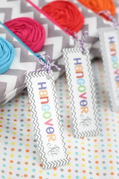 Cute party favor for a Bachelorette Party or girls  night.