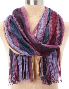 Colorful Zig-Zag Scarf from Charlotte Ruse : $4.99