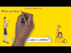 Comma Song: This song explains and provides examples for various forms of comma usage.