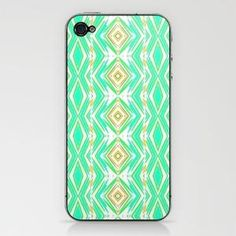 Diamonds in the rough... iPhone & iPod Skin by Lisa Argyropoulos | Society6