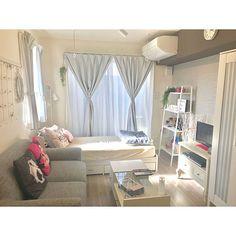Small Room Interior, Condo Interior, Small Room Bedroom, Studio Apartment Floor Plans, Studio Apartment Decorating, Small Room Design, Home Room Design, Small Bedroom Inspiration, Bedroom Decor For Teen Girls