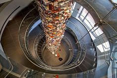 The Lincoln Tower of Books