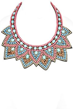 Amazing Summer Seed Bead Necklace