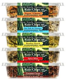 The Kale Factory Kale Chips #Blackowned #kale #snacks