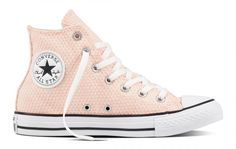 check out 2fc15 05d39 Converse Women s Chuck Taylor All Star Hi Top Snake Woven White  Pink Converse  Chuck Taylor