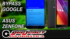 Desbloqueio conta Google Asus Zenfone GO Z00VD - FRP Bypass