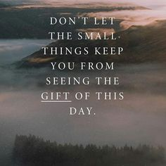 KEEP YOUR JOY  Don't Let The Small Things Keep You From Seeing The Gift Of This Day.  #joelosteen   #joelosteenquotes   @joelosteen    #Regram via @osteenquotes) Don't Let, Let It Be, Joel Osteen, Small Things, Note To Self, Motivationalquotes, Joy, Gift, Outdoor