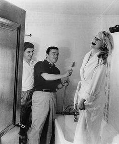 Bridgette Bardot and Director Louis Malle- 1961 A very Private Affair