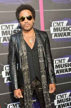Lenny Kravitz at CMT Music Awards