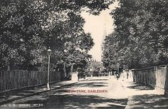Old Postcard - Acton Lane, Harlesden
