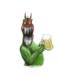 Monster Beer by Dean Huck on ARTwanted
