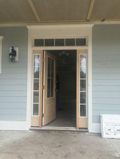 Front Porch Makeover, House Siding, Paint Colours, Garage Doors, Homes, Outdoor Decor, Ideas, Home Decor, Paint Colors