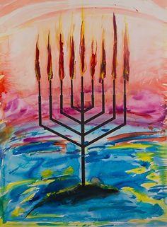 Yitzchok Moully - Untitled - Chanukah http://www.emesdig.com/?p=137