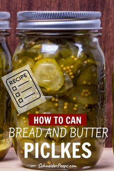 It's hard to find good bread and butter pickles like grandma used to make. Fortunately, I have my Granny's recipe to share with you. With just the right amount of sweet and sour these will quickly become your favorite homemade pickles. These pickles are great on sandwiches, relish trays or chopped up and used like relish for chicken, tuna, or egg salad. Learn how easy it can be to preserve the harvest with this step by step guide. #preservingvegetables #preservingfood #Fromscratch… Bread & Butter Pickles, Bread N Butter, Granny's Recipe, Canning Pickles, Relish Trays, Homemade Pickles, Grow Your Own Food, Egg Salad, Fermented Foods