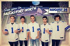 24 August 2014 | AT&T Stadium | Dallas, Texas, United States
