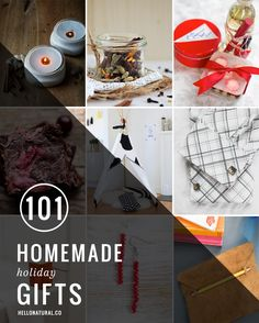 101 Homemade Holiday Gifts