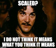 Scale is still hard!
