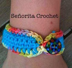 Señorita Crochet Bracelet /pulsera