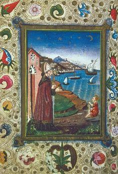 San Agustín y el niño. 1471