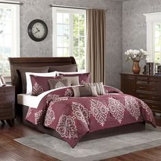 Madison Park Serena 10 Piece Comforter Set|Designer Living