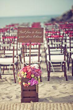 Modern Beach Wedding - The Wedding Chicks