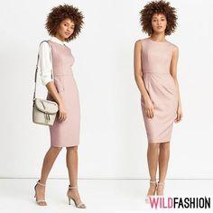 Înapoi la serviciu cu stil! 👗✨ Îți recomandăm o rochie fabricată în România:❤️💛💙 Dresses For Work, Casual, Fashion, Moda, Fashion Styles, Fashion Illustrations